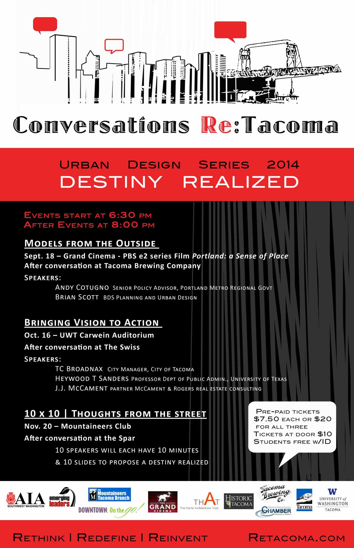 Conversations Regarding Tacoma 2014